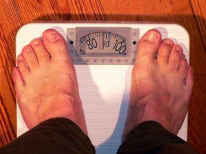 Übergewicht bei Jugendlichen.