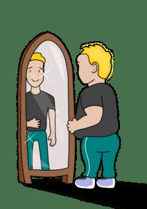 Übergewicht bei Kindern.