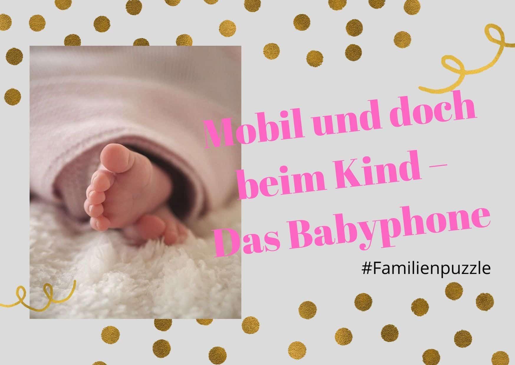 Titelbild Babyphone - Füße eines schlafenden Kindes.