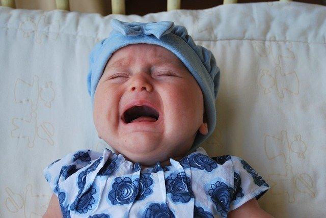 Ab wann ist ein Säugling ein Schrei-Baby?