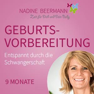Titelbild: Nadine Beermann Geburtsvorbereitungskurs online.
