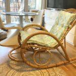 Der Schaukelstuhl aus Rattan - und warum er so beliebt ist