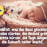 Danksagung zur Geburt: Die 22 schönsten Sprüche zur Danksagung