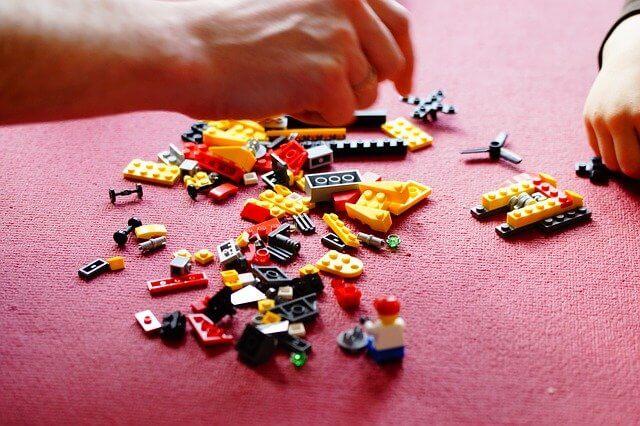 Lego Bausätze in der Übersicht.