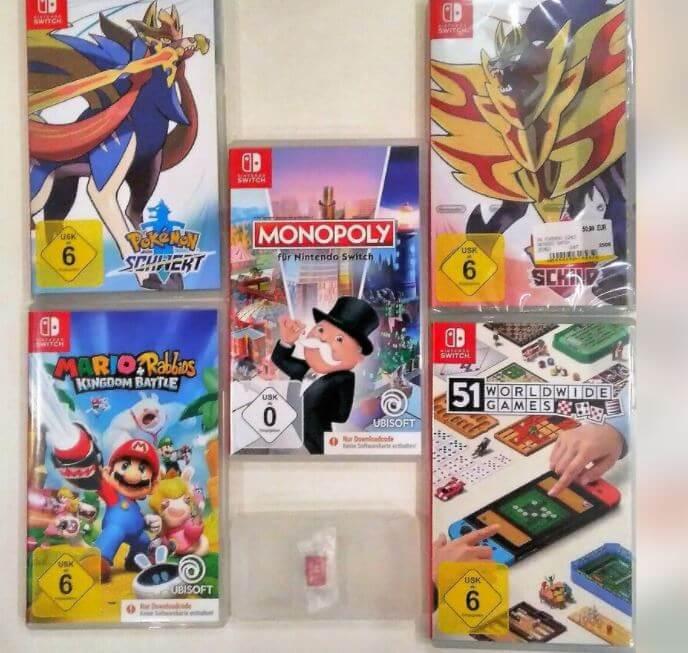 Nintendo Switch Spiele für Kinder und Erwachsene