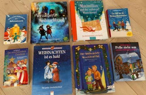 Schöne Weihnachtsbücher für Kinder.