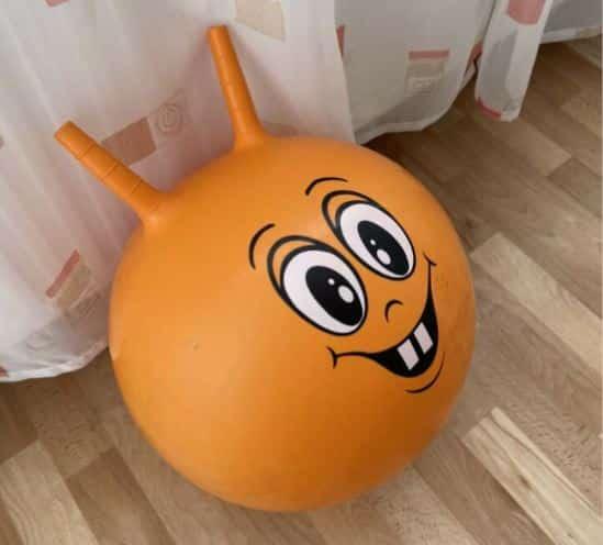 Hüpfball für Kinder - Es gibt sie in vielen lustigen Ausführungen.