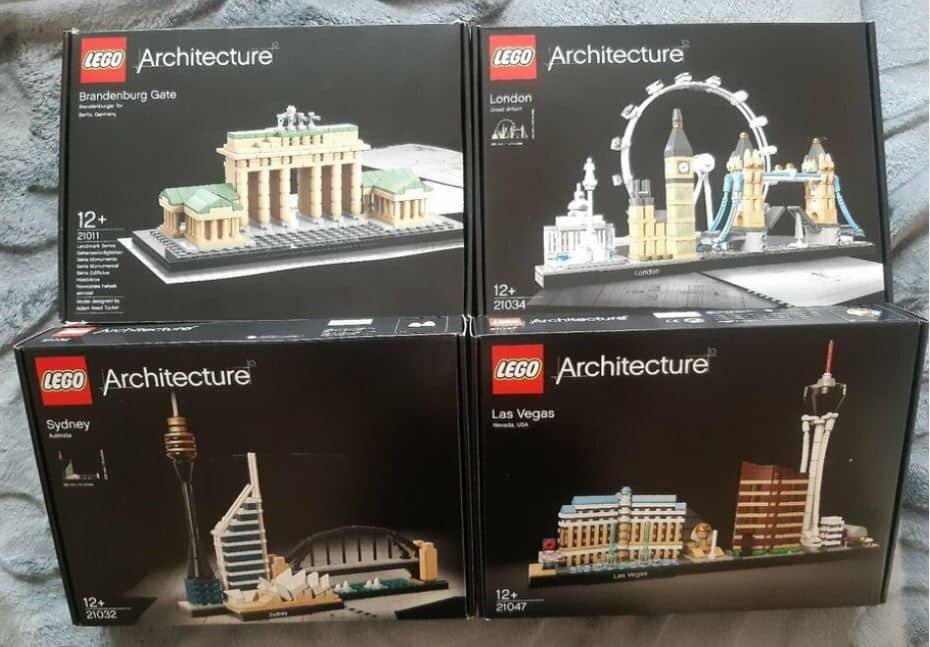 LEGO Architecture - Das sind die Sets!