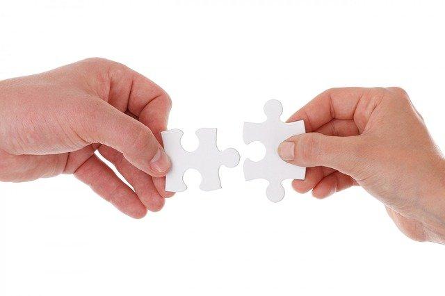 Blankopuzzle sind nicht für jedermann - sie sind eine tolle Herausforderung.