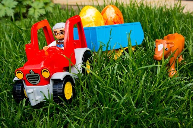 Mit einem Bauernhof von Lego Duplo haben schon die kleinsten Spaß.