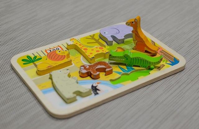 Steckpuzzles sind schon für die ganz Kleinen toll.
