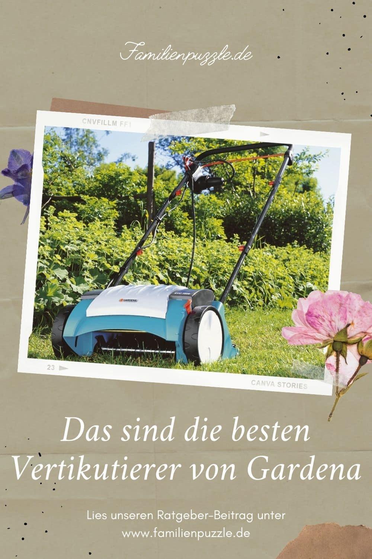 Mit dem Vertikutierer von Gardena kannst du dir die Gartenarbeit erleichtern.