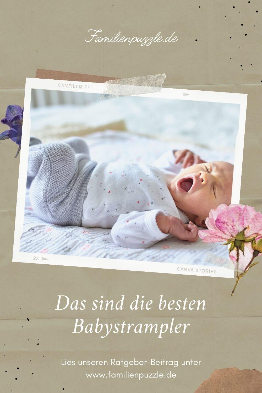 Macht ein Babystrampler Sinn und worauf solltest du beim Kauf achten? Auf dem Foto: Ein Baby im Strampler.