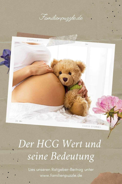 Der HCG Wert kann aussagen, wie weit deine Schwangerschaft schon fortgeschritten ist.