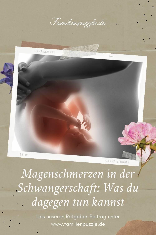 Viele leiden unter Magenschmerzen in der Schwangerschaft. Manchmal braucht das Baby einfach nur mehr Platz.