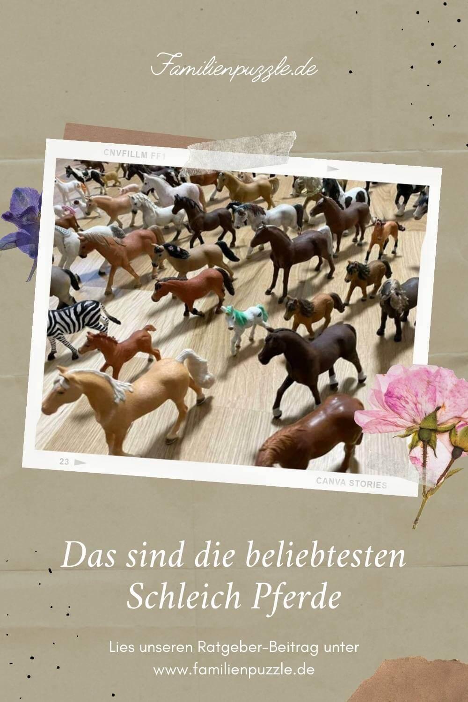 Schleich Pferde erfreuen sich großer Beliebtheit.