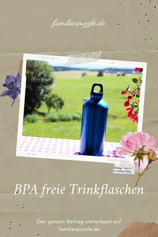 BPA freie Trinkflaschen.