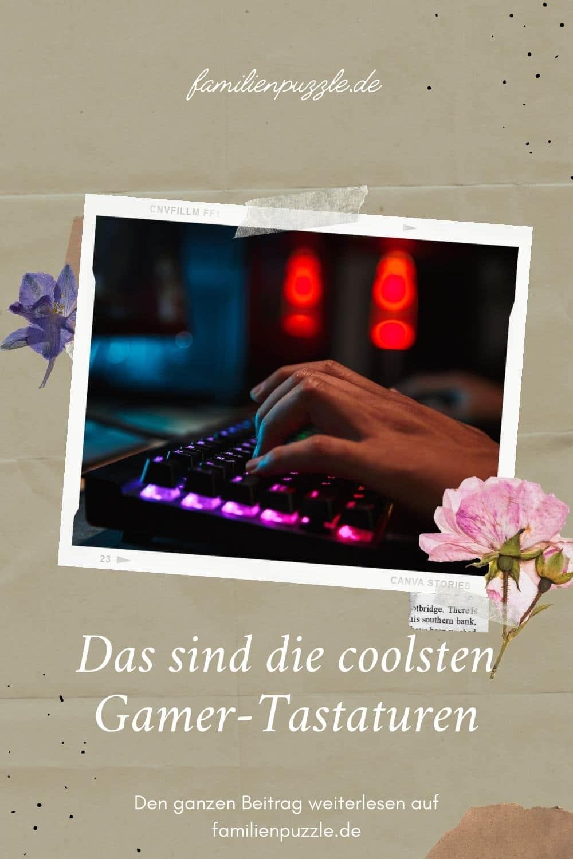 Das sind die besten Gamer Tastaturen. Auf dem Foto: Ein Kind spielt am PC.