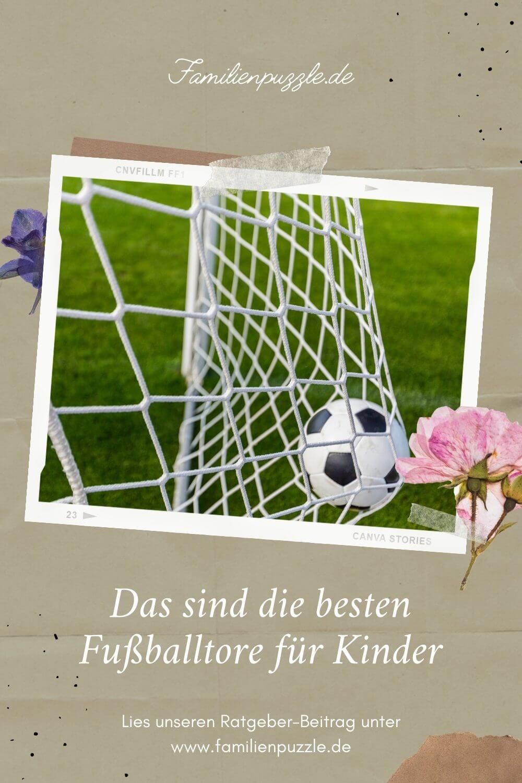 Fußballspeilen macht riesen Spaß! Noch mehr, wenn der Ball in das passende Fußballtor für Kinder geht!