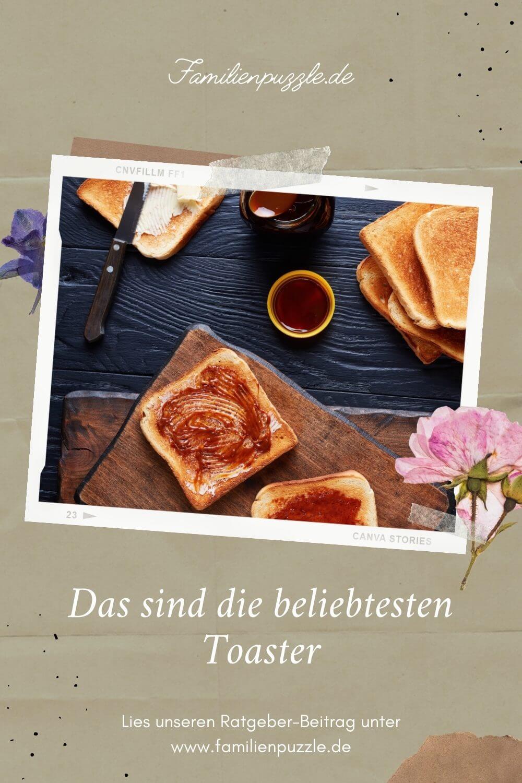 Einen Toaster kaufen kann zur Herausforderung werden. Lass dir von unserem Kaufberater helfen! Auf dem Foto: Lecker angerichtetes Toast mit Marmelade.