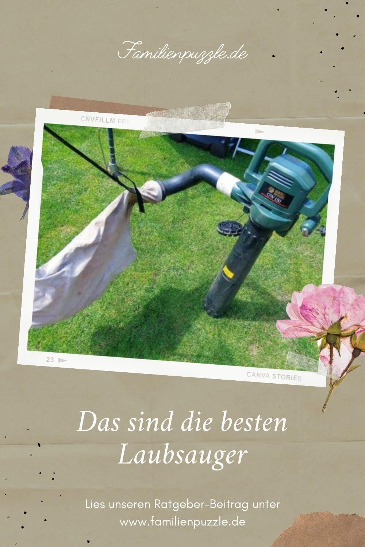 Laubsauger oder Laubbläser? Finde heraus, was besser zu dir passt! Auf dem Foto: Ein Laubsauger von Bosch.