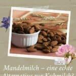 Mandelmilch – eine echte Alternative zur Kuhmilch?