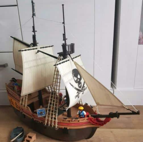 Fertig machen zum Entern mit dem Playmobil Piratenschiff!