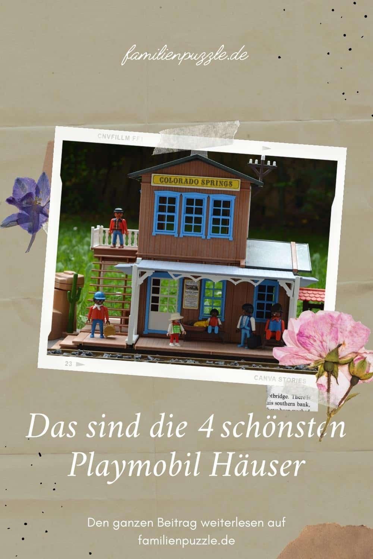 Das sind die schönsten Playmobil Häuser. Auf dem Foto: Ein Haus von Playmobil.