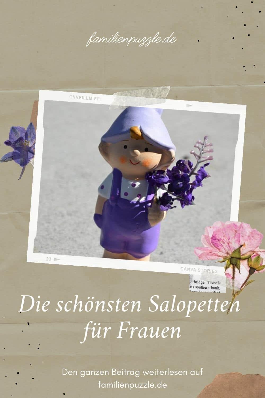 Salopetten - Latzhosen für Frauen.