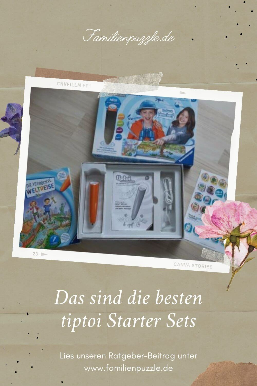 Kinder lieben tiptoi. Hier findest du die schönsten tiptoi-starter sets. Auf dem Foto: Tiptoi Weltentdecker.