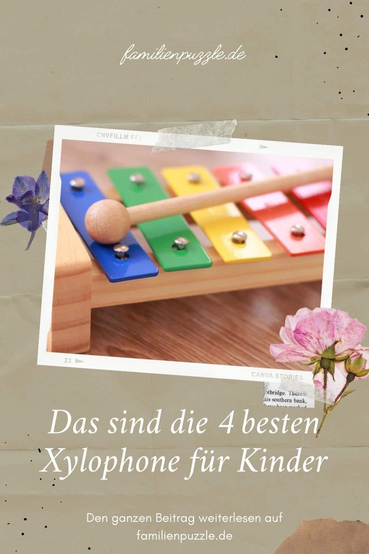Das sind die besten Xylophone für Kinder. Auf dem Foto: Ein Holz-Xylophon.