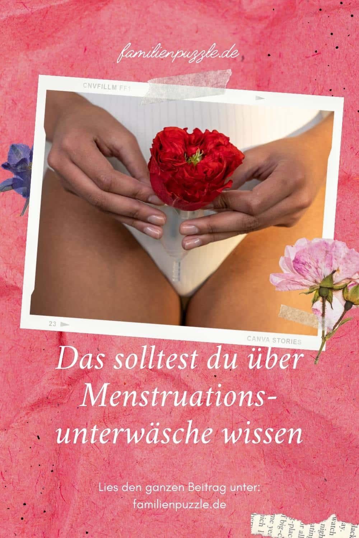 Menstruationsunterwäsche ist der neueste Hygieneartikel für Frauen.