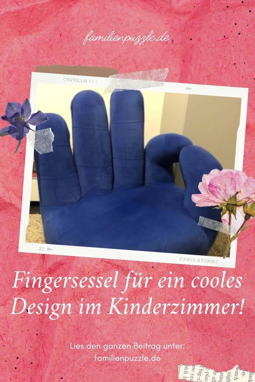 Fingersessel sind ein absoluter Hingucker im Kinderzimmer.