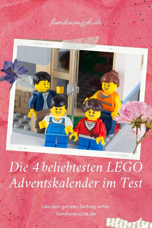Im Test: 4 beliebte LEGO- Adventskalender.