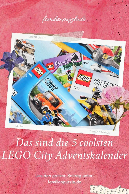 Das sind die coolsten Lego City Adventskalender.
