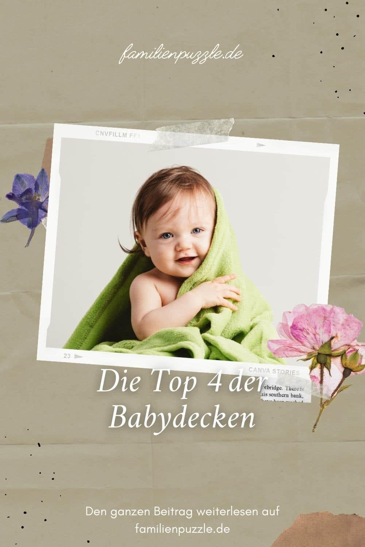 Eine schöne kuschelige und hochwertige Babydecke kaufen.