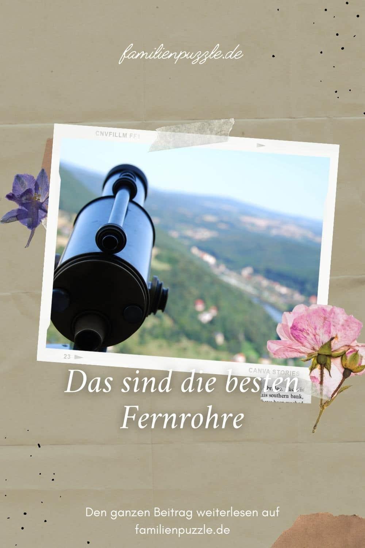 Mit einem guten Fernrohr lässt sich nicht nur die Natur, sondern auch der Himmel beobachten. Hier ein Fernrohr auf der Festung Königstein.