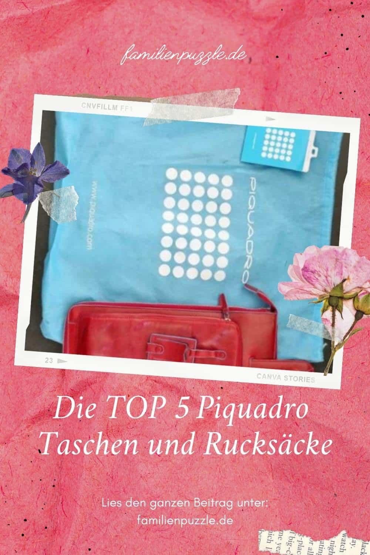 Piquadro - Tasche und Rucksack.